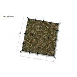 DD Tarp 3x3 MC varikatus (camo)