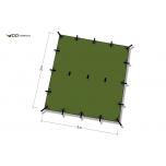 DD Tarp 3x3 varikatus
