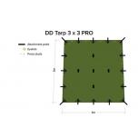 DD varikatus 3x3 Pro